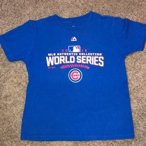 Chicago Cubs 2016 World Series Tee - Boys M